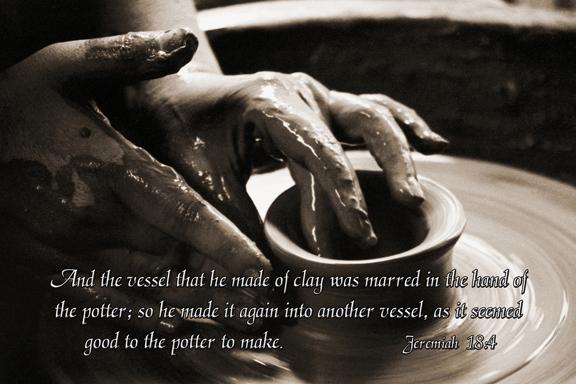 creator Jeremiah 18-4