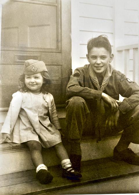 Buddy and Judy 1950